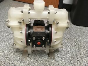 Sandpiper S07b1p2ppns000 Air powered Double diaphragm Pp Pump Ptfe 23 Gpm 180f