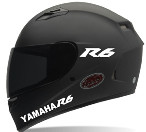 Helmet Decals Yamaha R6 Motorcycle Helmet Decals Sticker