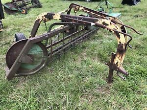 John Deere Pull Type Hay Rake Used Farm Equipment Antique Farm Equipment