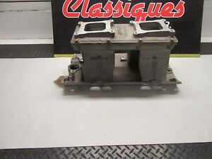 Chevy Bbc Tunnel Ram Intake Manifold Edelbrock Street Tunnel New Display Oval