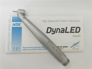 Nsk Ti max X450 Led 45 Degree Dental High Speed Handpiece B2 2 Holes With Light