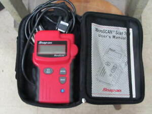 Snap On Eesc307a Microscan Diagnostic Tool Scanner