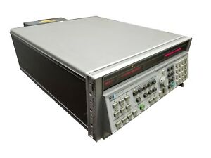 Hewlett Packard Hp 8340a Synthesized Sweeper Signal Generator 10 Mhz 26 5 Ghz