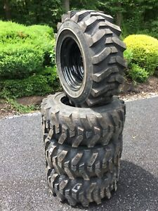 12 16 5 Hd Skid Steer Tires wheels rims camso Sks532 12x16 5 For
