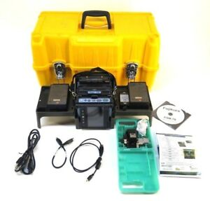 Fujikura Fsm 70s Fusion Splicer W Ct 06a Cleaver Hard Carry Case arc 3095