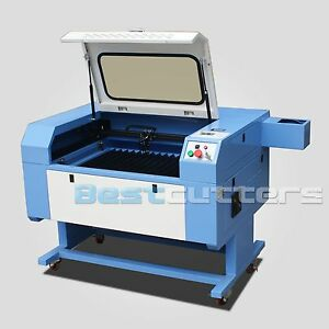 Reci100w Laser Cutting And Engraving Machine With Cw3000 Water Chiller 500x700mm