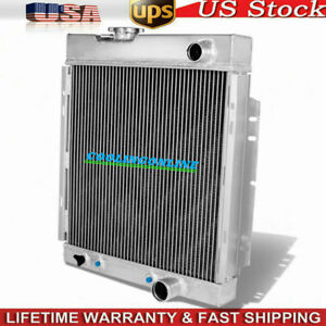 3row Aluminum Radiator For 1963 1966 64 65 Ford Mustang Falcon V8 Engine At mt