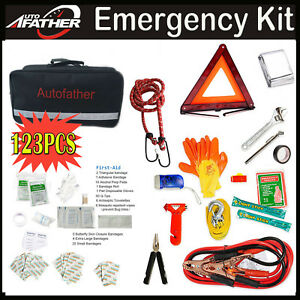 Emergency Roadside Assistance Kit Car Safety Kit Complete Road Trip Essentials