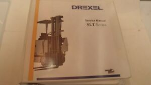 Drexel Slt Series Service Manual Forklift Equipment Book Free Shipping