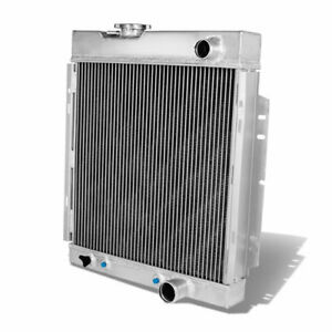 3row Aluminum Radiator For 1963 1966 65 Ford Mustang Falcon V8 Engine At mt D51