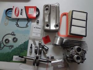 Stihl Ts420 Nikasil Plated Cylinder Overhaul Rebuild Kit W Crankshaft