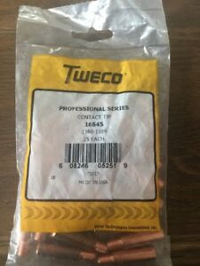 Tweco Contact Tip 16s45 1160 1104 25 Eachprofessional Series f