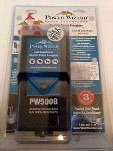 Power Wizard Pw500b Electric Fence Energizer