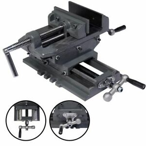 New 5 Cross Drill Press Vise X y Clamp Machine Slide Metal Milling 2 Way Hd