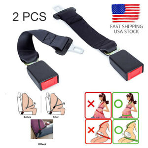 Universal Car Auto Seat Seatbelt Safety Belt Extender Extension Pregnant Buckle