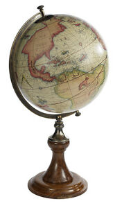 Mercator 1541 Old World Terrestrial Globe Classic Stand 24 Table Top Decor New