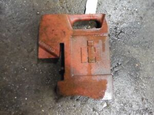 International Harvester Tractor 75 Lbs Front Weight Part 383392r1 Tag