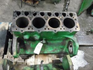 John Deere 3020 Diesel Tractor Engine Block Part r3202r Tag 419