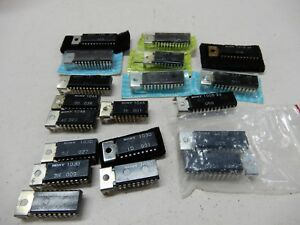 Huge Lot Of Sony Ic s For Audio 103d 104a 100d