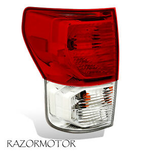 2010 2013 Driver Replacement Tail Light For Toyota Tundra W Bulbs And Harness