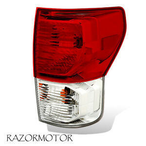 2010 13 Passenger Replacement Tail Light For Toyota Tundra W Bulbs And Harness
