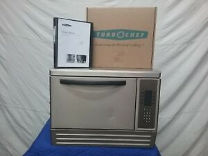 Used Turbochef Ngc Tornado Convection Oven With Manual Brand New Stone