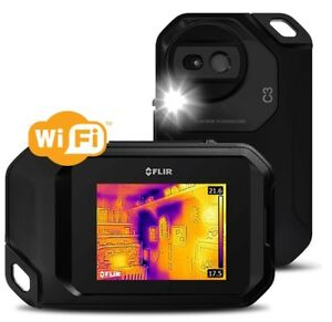 Flir C3 Compact Thermal Camera With Wi fi Pocket Imaging Inspection 72003 0303