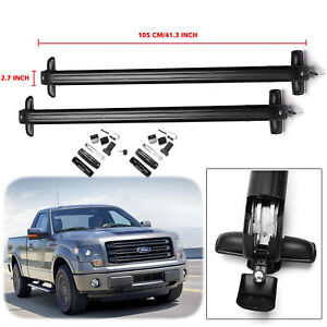 Car Top Luggage Roof Rack Cross Bars Carrier Adjustable For Ford F Series 08 16