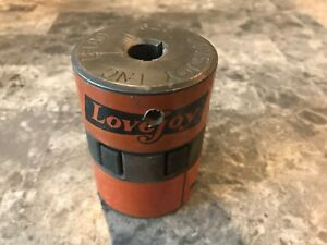Lovejoy L 100 Hub 1 Wkw Jaw Coupler W Rubber Spider Motor Shaft sb 10