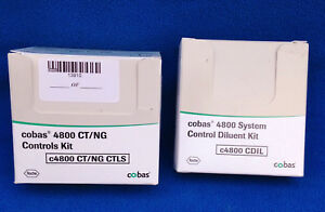 System Control Dilluent Kit Ct ng Controls Kit For Cobas 4800 New