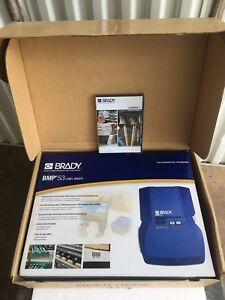 Brady Portable Label Maker Printer Bmp53 New In Orig Packaging Box W Software