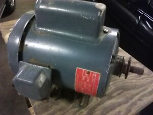 Vintage Ge General Electric Ac Motor 5kc45ng441 1 Hp 3450 Rpm Frame 56 115 230v