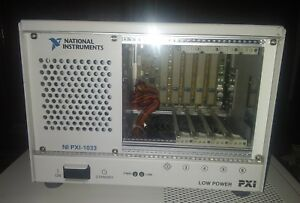 National Instruments Pxi 1033 5 slot Pxi Chassis Mxi express Controller