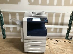 Xerox Workcentre 7835 Color Copier Machine Network Printer Scanner Fax Mfp Copy