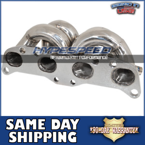 For 1989 Nissan Silvia 240sx Ca18 Det T3 t4 Turbo Manifold Stainless Exhaust