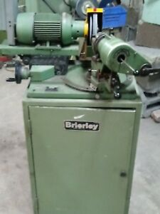 Brierley Drill Sharpener Drill Grinder With Accessories And Manual