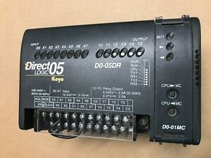 Direct Logic Koyo D0 05dr Programmable Controller D0 01mc Memory Module Do