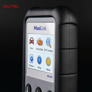 Autel Ml629 Obd2 Diagnostic Tool Can Code Reader Abs Srs Airbag Engine As Md802