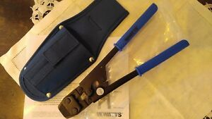 Watts Cinch Pex Adjustable 2 hand Tool With Holster Wpcct 2 New In Box