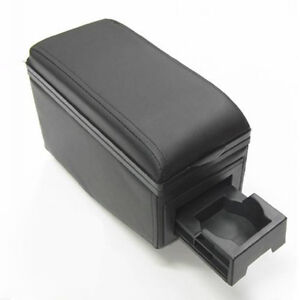 Black Armrest Arm Rest Console For Ford Fusion Galaxy C Max S Max Explorer Ka