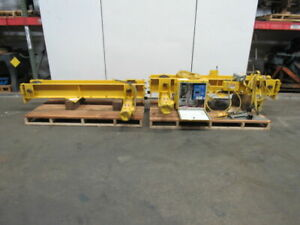 6 Ton Bottom Runner Bridge Crane Runners Variable Speed