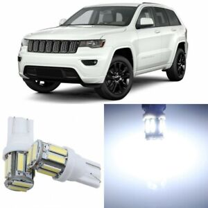 17 X Super Bright Interior Led Lights Package For 2011 2018 Jeep Grand Cherokee
