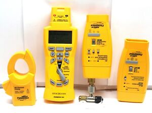 Lot 4 Fieldpiece Hg2 Hvac Guide Diagnostic Analyzer W hg2 ach4 ath4 asx14 W cd