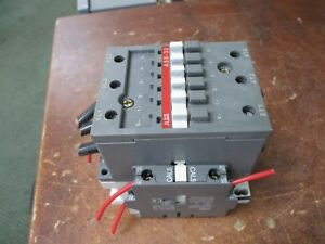 Abb Contactor A50 30 120v Coil 80a 600v Used