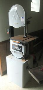 Delta 28 348 14 inch 1 1 2 Horsepower Metal And Wood Cutting Band Saw 115 volt