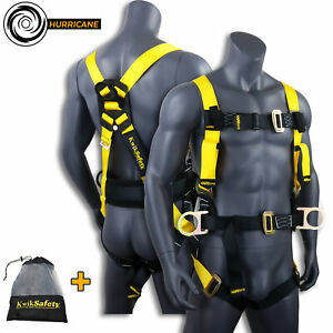 Kwiksafety Hurricane Ansi Fall Protection 3d Ring W Back Support Safety Harness