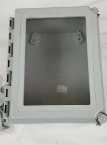 Hoffman A864chqrfgw Enclosure Nema 4x Continuous Hinged Junction Box 8x6x4 New