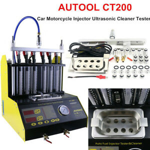 Autool Ct200 Ultrasonic Gasoline Fuel Injector Cleaner Tester For Car Motor Van