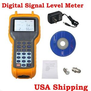 From Usa Ry s110 Catv Cable Tv Digital Signal Level Meter Db Tester 47 870mhz