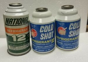 R12 Refrigerant Freon 3 Cans And Free Shipping